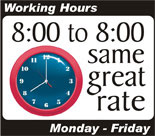HVAC 8AM to 8PM Repair Service
